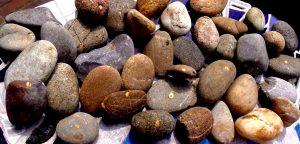 Stenen met stip